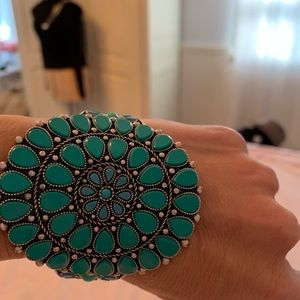 Lucky Turquoise Cuff